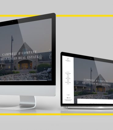 Campbell & Company Real Estate Website Development mockup